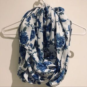 A&F Floral Infinity Scarf